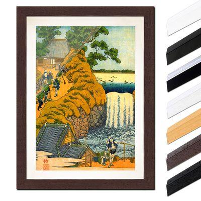 Katsushika Hokusai - Der Aoigaoka Wasserfall in der Hauptstadt – Bild 4