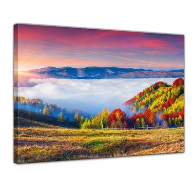 Leinwandbild - Herbstmorgen – Bild 1