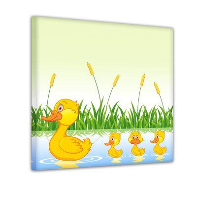 Entenfamilie - Ausmalbild – Bild 2