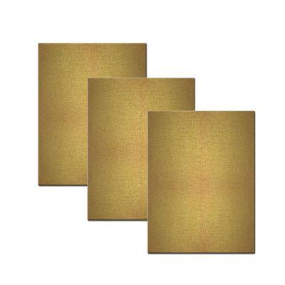 bemalbare Leinwand in gold - Rechteck – Bild 3