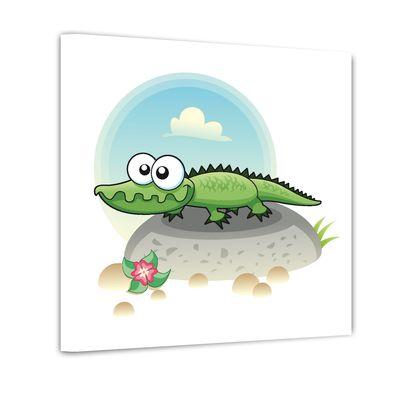 Krokodil - Ausmalbild – Bild 2