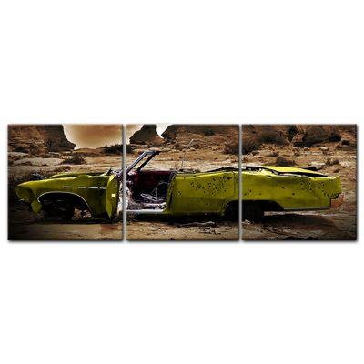 Leinwandbild - Cadillac - gelb sepia – Bild 4