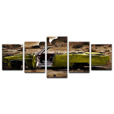 Leinwandbild - Cadillac - gelb sepia – Bild 11