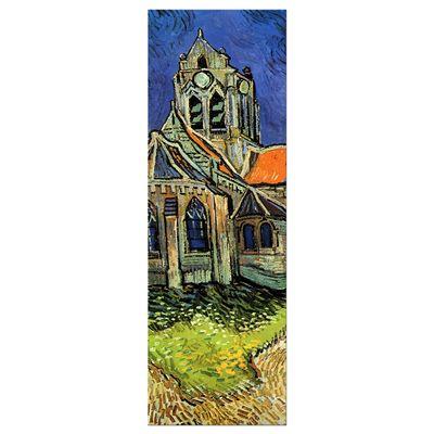 SALE Leinwandbild - Vincent van Gogh Die Kirche von Auvers - 40x120 cm – Bild 2
