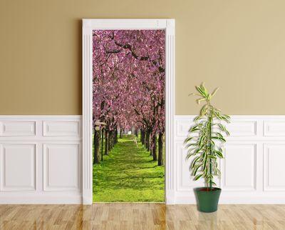 Türaufkleber - Kirschblüte