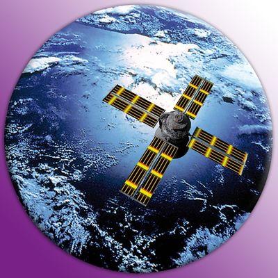 Leinwandbild Rund - Weltall – Bild 2