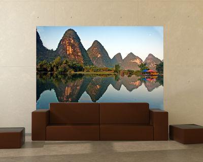 Fototapete Beauty of Yangshuo Karst in Guilin, China