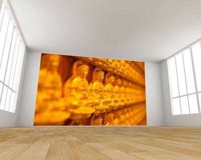 Fototapete Goldener Buddha