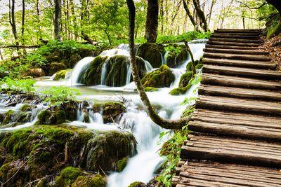 Fototapete Wasserfall in Plitvice, Kroatien  – Bild 2