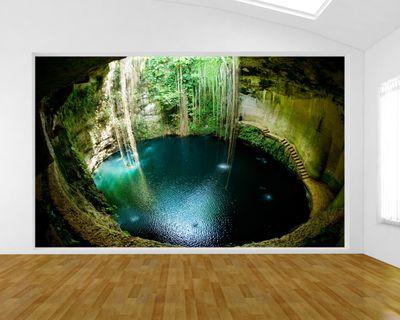 Fototapete Ik-Kil Cenote - Mexiko  – Bild 1