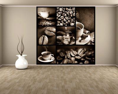 Fototapete Kaffee Collage III  – Bild 3