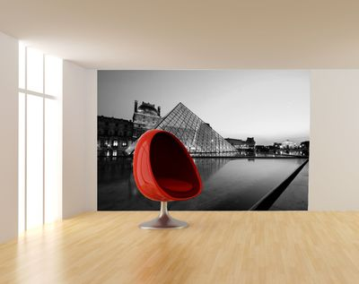 Fototapete Louvre Museum in Paris - Frankreich  – Bild 5