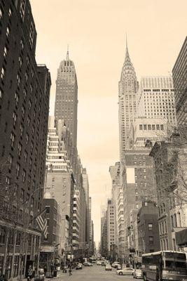 Fototapete Manhattan Street View  – Bild 2