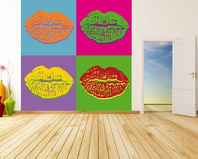 Fototapete Pop art Lips  – Bild 1