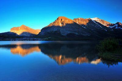 Fototapete Swiftcurrent Lake, Montana - USA  – Bild 2