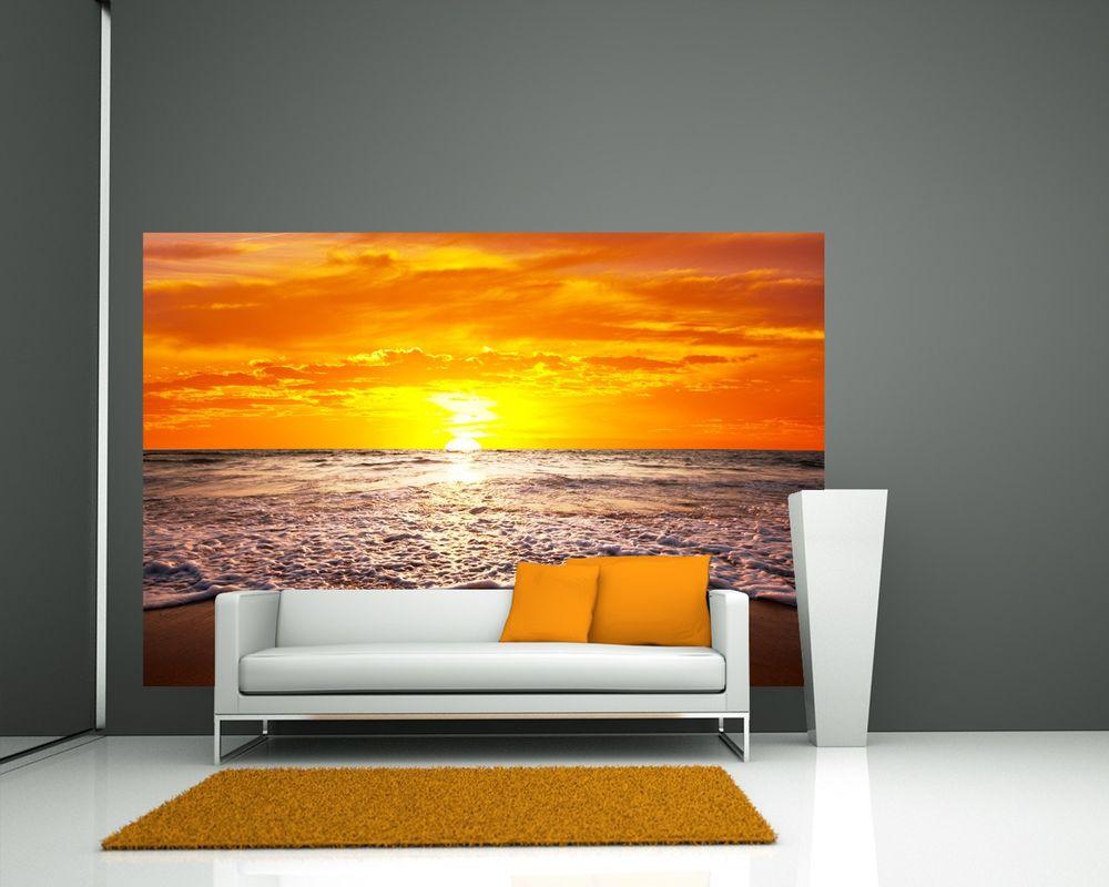 Fototapete Sonnenuntergang in Hawaii
