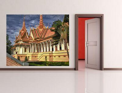 Fototapete Tempel in Phnom Penh - Kambodscha