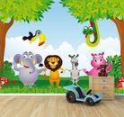 Fototapete Kindertapete - Tiere Cartoon