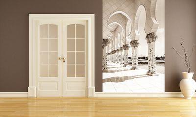 Fototapete Scheich-Zayid-Moschee in Abu Dhabi - Vereinigten Arabischen Emirate  – Bild 3