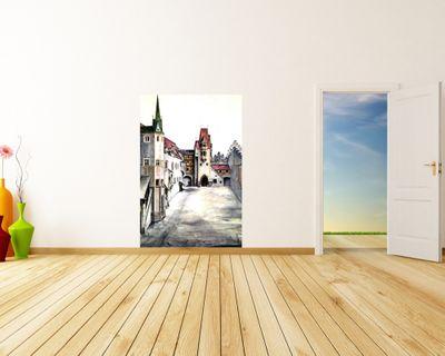 Fototapete Albrecht Dürer - Alte Meister - Der Hof der Burg zu Innsbruck