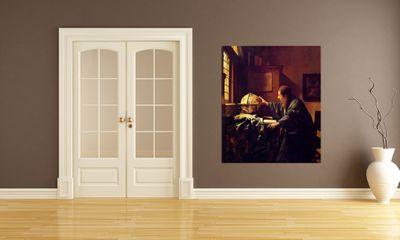 Fototapete Jan Vermeer - Alte Meister - Der Astronom