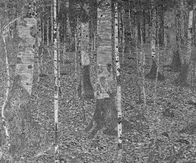 Fototapete Gustav Klimt - Alte Meister - Birkenwald – Bild 6