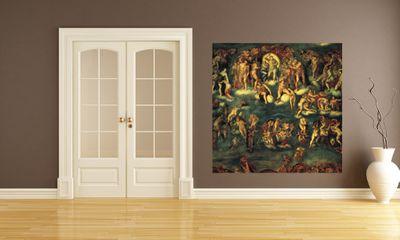 Fototapete Michelangelo  - Alte Meister - Jüngstes Gericht I – Bild 1
