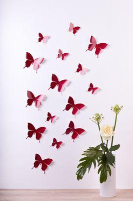Schmetterlinge in 3D Style - Glitzer – Bild 5