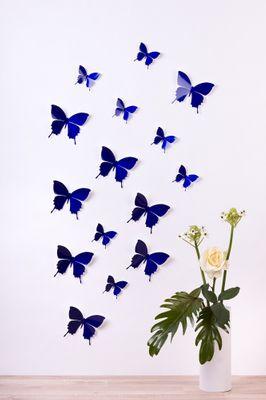 Schmetterlinge in 3D Style - Glitzer – Bild 7