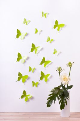 Schmetterlinge in 3D Style - Glänzend – Bild 6