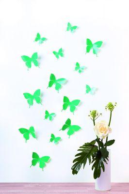 Schmetterlinge in 3D Style - Glänzend – Bild 12