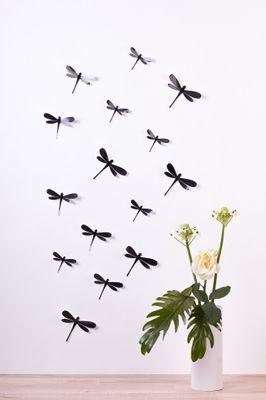 Libellen in 3D Style - Glitzer – Bild 6