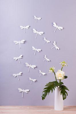 Libellen in 3D Style – Bild 5