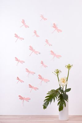 Libellen in 3D Style - Glänzend – Bild 1