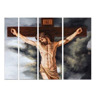 Leinwandbild - Jesus am Kreuz – Bild 9