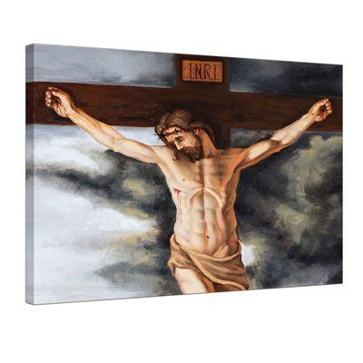 Leinwandbild - Jesus am Kreuz – Bild 1