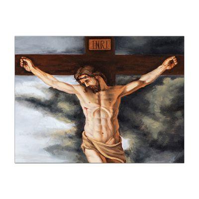 Leinwandbild - Jesus am Kreuz – Bild 4