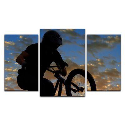 Leinwandbild - Airborne Bike – Bild 12