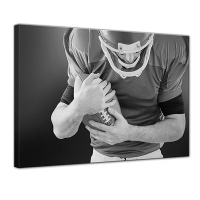 Leinwandbild - American Football Player – Bild 1