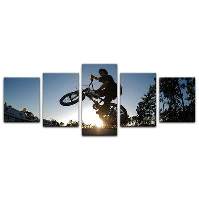 Leinwandbild - BMX – Bild 9