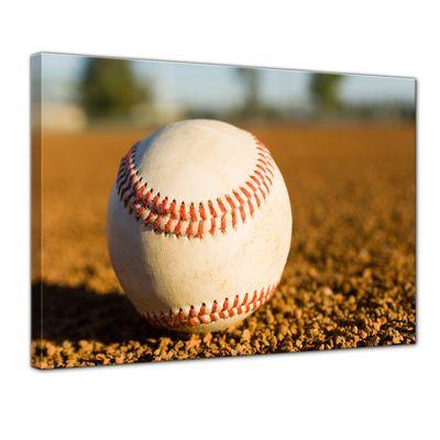 Leinwandbild - Baseball – Bild 1