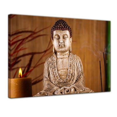Leinwandbild - Buddha V – Bild 1