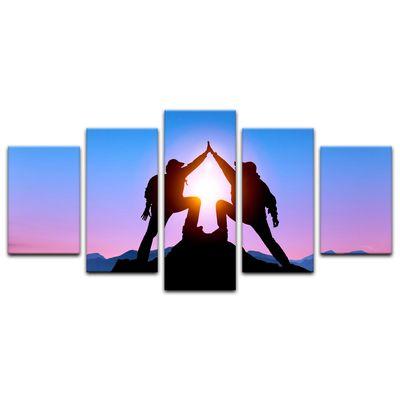 Leinwandbild - Gipfelstürmer – Bild 9