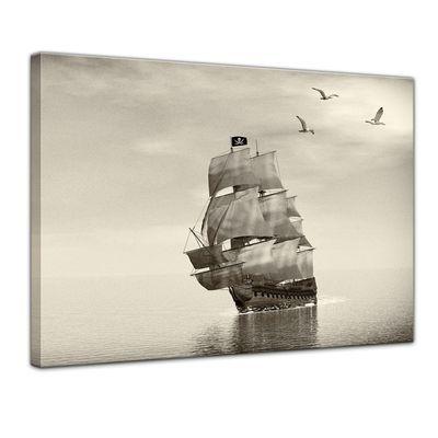 Leinwandbild - Piratenschiff – Bild 1
