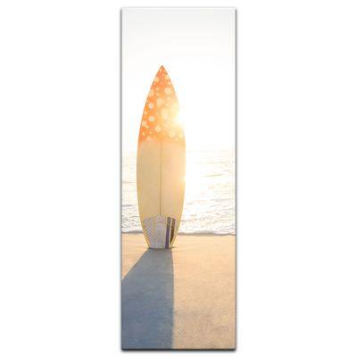 Leinwandbild - Surfboard am Strand – Bild 11