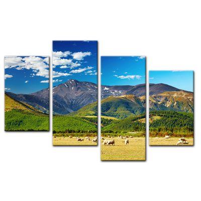 Leinwandbild - Berglandschaft - Neuseeland – Bild 11