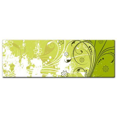 Leinwandbild - Blumen Grunge – Bild 8