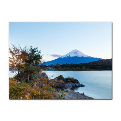 Leinwandbild - Fuji Kawaguchiko See – Bild 4