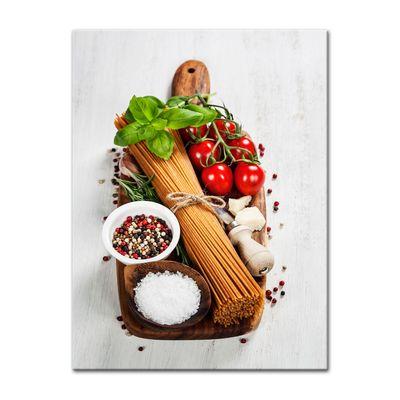 Leinwandbild - Italienische Pasta II – Bild 6