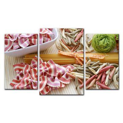Leinwandbild - Italienische Pasta V – Bild 3